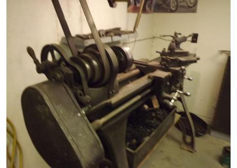 Metal Lathe antique