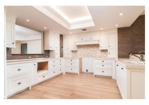 """""""Faircrest Frances"""" --- Beautiful White Shaker Style Cabinets with """"Inset"""" Construction"""